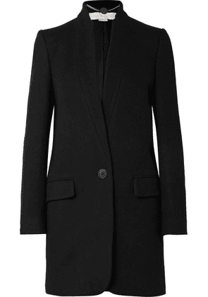 Stella McCartney - Bryce Melton Wool-blend Coat - Black
