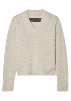 The Elder Statesman - Cashmere Sweater - Cream
