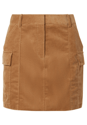 Stella McCartney - Cotton-corduroy Mini Skirt - Camel