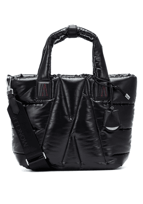 Powder quilted tote