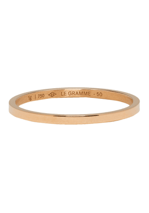 Le Gramme Red Gold Polished 'Le 1 Grammes' Wedding Ring