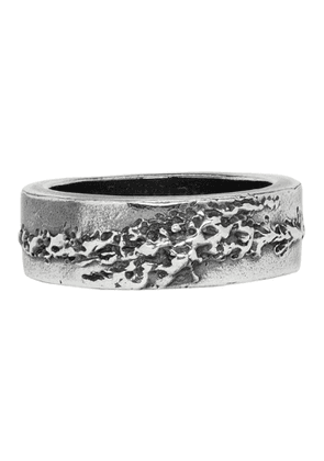 Chin Teo Silver Flame Ring