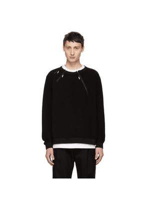 99% IS Black 3 Zip Sweatshirt