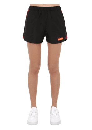 Logo Printed Nylon Shorts