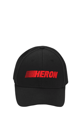 Heron Racing Cotton Baseball Cap