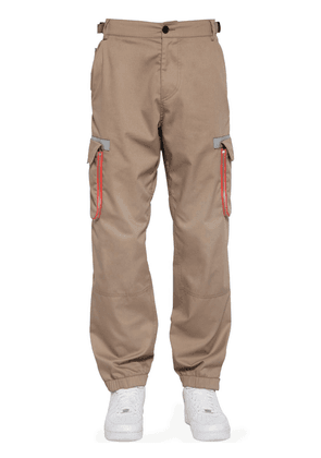 Big Pocket Cotton Blend Cargo Pants