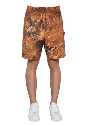 Red Tape Cotton Cargo Shorts