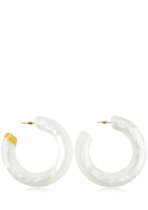 Kennedy Acrylic Hoop Earrings