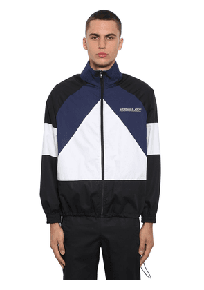 Mustermann Color Block Zip-up Jacket