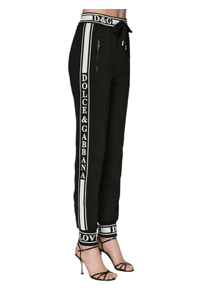 Sweatpants W/ Logo Side Bands