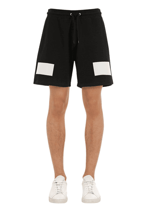 Cotton Jersey Shorts W/4g Logo