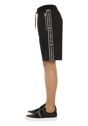 Jersey Shorts W/ Logo Side Bands
