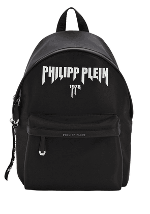 Printed Logo Tech Backpack