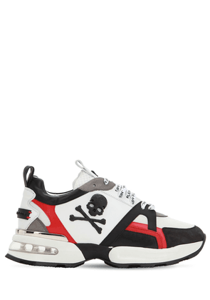 Runner Skull Low Leather Sneakers