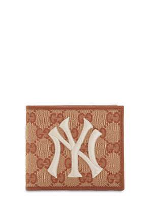 New York Gg Supreme Logo Wallet