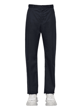 Baggy Cotton Gabardine Chino Pants