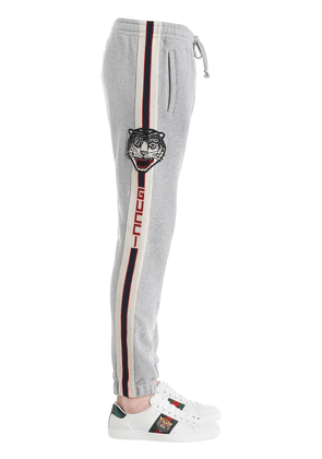 Cotton Jogging Pants W/ Side Bands