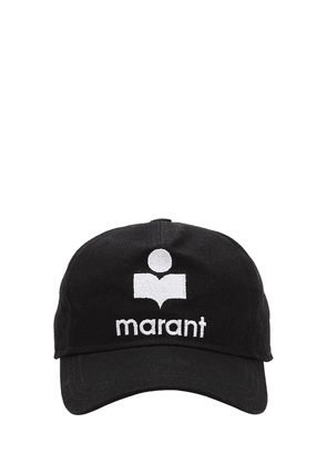 Logo Embroidered Cotton Baseball Hat