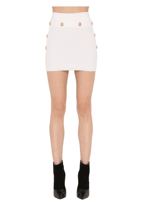 Viscose Knit Mini Skirt