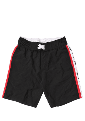 Logo Printed Swim Shorts