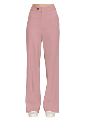 Loose Fit Wool Wide Leg Pants