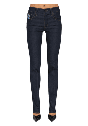 Mid Rise Slim Fit Denim Jeans