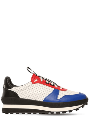 Tr3 Perforated Leather Sneakers