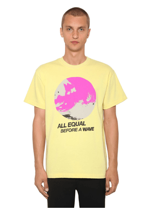 All Equal Printed Cotton Jersey T-shirt