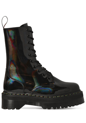 40mm Jadon High Patent Leather Boots