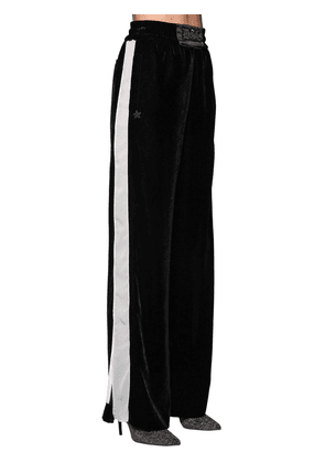 Oversized Wide Leg Pants W/ Side Bands