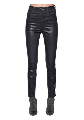 Babhila Skinny Waxed Cotton Denim Jeans