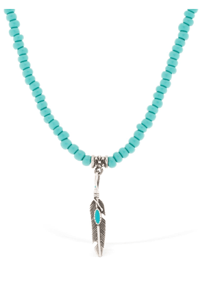 Native Turquoise Beaded Necklace