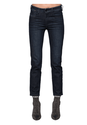 Rifty Mid Rise Slim Stretch Denim Jeans