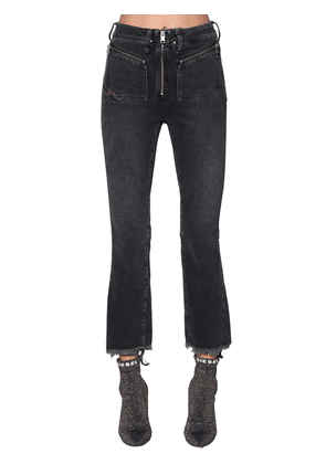 Earlie High Rise Cropped Denim Jeans