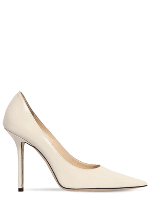 100mm Love Patent Leather Pumps