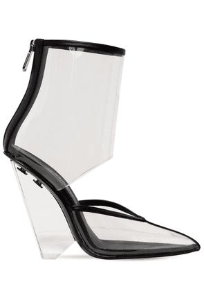 95mm Livy Pvc Ankle Boots