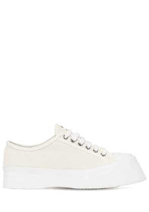 30mm Cotton Canvas Sneakers