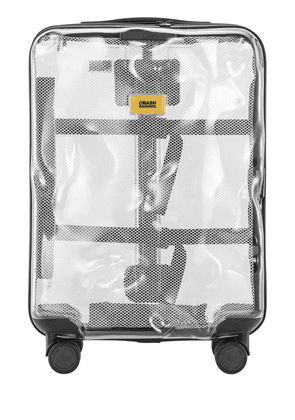 40l 4-wheel Share Clear Carry-on Trolley