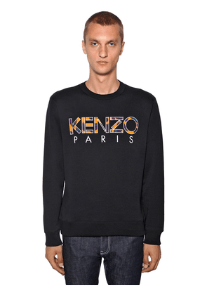 Logo Patch Cotton Sweater