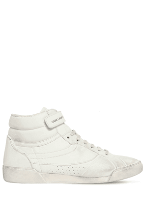 20mm Lenny Leather High Top Sneakers