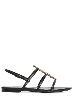 10mm Cassandra Nu Pie Leather Sandals