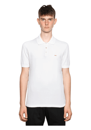 Tripla X Embroidered Logo Polo Shirt