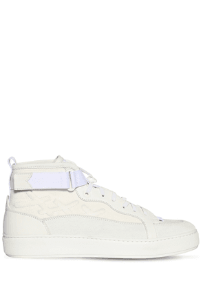 Tiziano Canvas & Suede High Top Sneakers