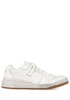 Travis Perforated Leather Sneakers