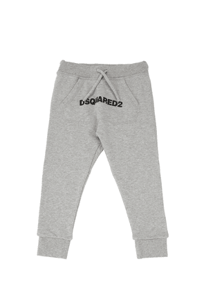 Logo Print Cotton Sweatpants
