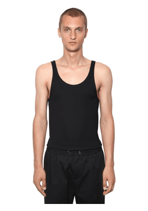 Cotton Jersey Tank Top