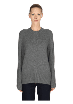 Crewneck Cashmere Knit Sweater