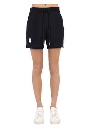 Rwb Striped Cotton Pique Shorts
