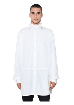 Sintonia Boxy Extended Fit Cotton Shirt