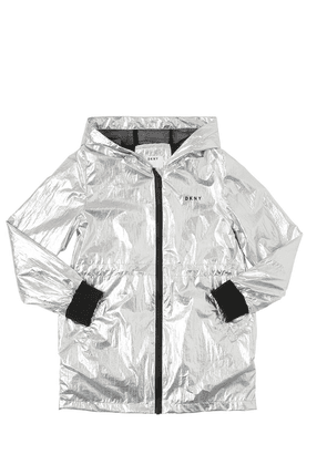 Metallic Coated Parka